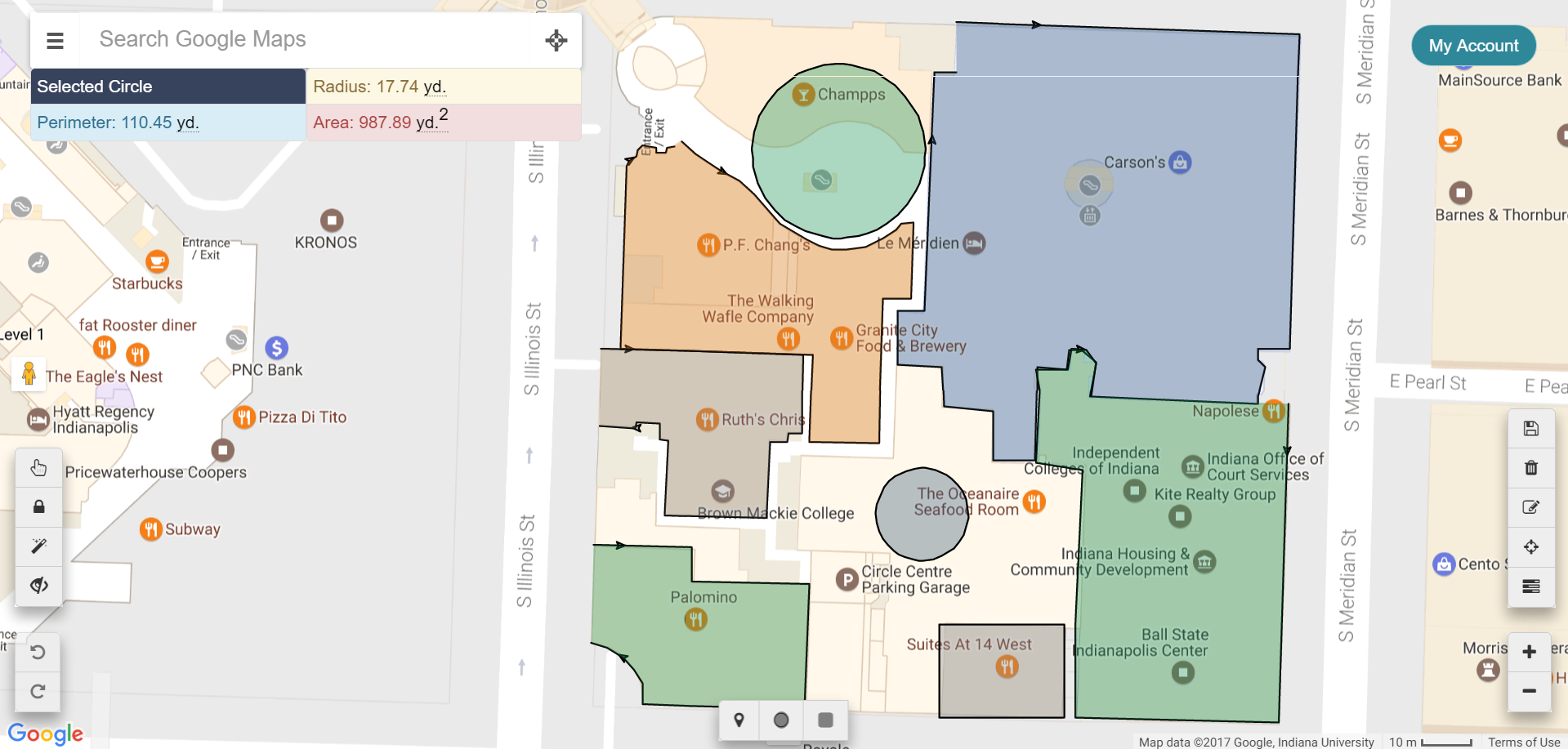 Help Section MeasureIt - Map : Measure Area And Distance On
